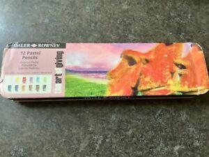 Daler Rowney 12 pastel pencils