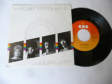 """MARGRIET ESHUIJS BAND"""" JOE AND JERRY- disco 45 giri CBS Holl 1982"""" PERFECT"""