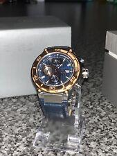 Guess Collection GC X56011G7S Men's Chronograph Swiss Watch Leather Strap Quartz