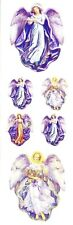 ~ Angels Religious Vintage Angel Lady Wings Paper House StickyPix Stickers ~