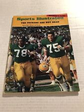 1968 Sports Illustrated GREEN BAY Packers BROWN Forrest GREGG No Label STARR