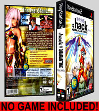 .hack Quarantine Part 4 - PS2 Reproduction Art DVD Case No Game
