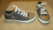 BOY'S SIZE 12 BROWN LACE UP SHOES ROYAL COUNTY of BERKSHIRE POLO CLUB