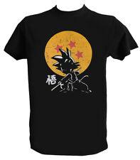 T shirt Son Goku Uomo Bambino Primitive Dragon Maglietta DBZ Cartoni