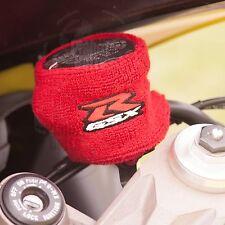 Large Red Brake & Clutch Reservoir Sock Cover Motorcycle Dirt Bike Oil GSXR