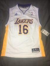 Los Angeles Lakers Gasol baloncesto de la NBA Jersey jóvenes medio