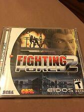 Fighting Force 2 (Sega Dreamcast, 1999) CIB perfect condition