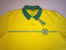 HUGO BOSS GREEN MEN'S SHIRT,GR-PADDY FLAG BRAZIL ,100%  AUTHENTIC, SZ 3XL/XXXL