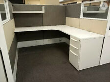 Used Office Cubicles, Haworth Premise 6x6 Cubicles