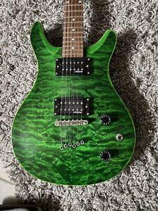 Acepro E- Gitarre- Emerald Green.