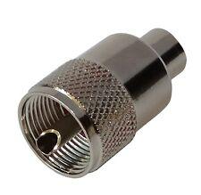 Adaptateur prise fiche UHF PL-259 mâle pour câble RG59