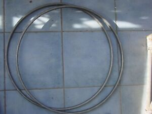 1 Pair 2 Pieces of Tubular Rims 36 Hole 28 inch Used