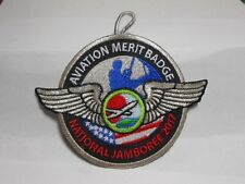 2017 NATIONAL JAMBOREE AVIATION MERIT BADGE GREY BORDER