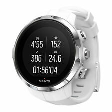 Suunto Spartan Sport White GPS Watch With Heart Rate Monitor Strap SS022650000