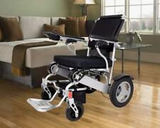Foldable Electric Wheelchair Power Compact Mobility Aid Wheel Chair Lightweight