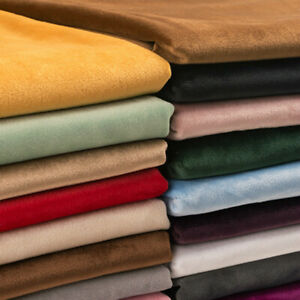 Thick Dutch Velvet Plush Cloth Upholstery Sofa Pillow Head Diy Velour fabric