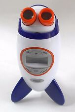 Discovery Kids / TIME SPACE PROJECTION ALARM CLOCK BLUE HAT TOY COMPANY TESTED