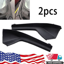 Pair Black Cowl Grille Car Outer Cover Trim for for Nissan Versa 2007-2011 Us (Fits: Nissan)