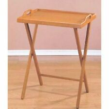 Tray Table  Wooden TV Folding Furniture Snack Drink Serving Portable  Desk