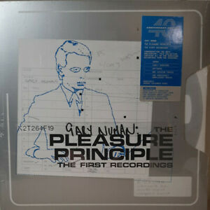 Gary Numan Pleasure Principle First Recordings 2 x LP Colored Vinyl Record Album