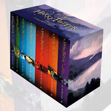 Harry Potter The Complete Collection 7 Books Set Collection J.K. Rowling NEW US