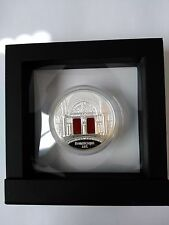 2014 Niue Art That Changed the World Proof Romanesque w/ Agate 3 oz .999 Silver