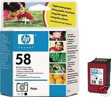 Genuine Original HP 58 C6658AE Photo Cartuccia AFFARE 2YR GARANZIA fastpostage