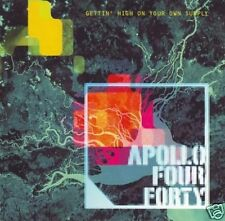 "APOLLO FOUR FOURTY ""Gettin' high on your own supply"" CD"