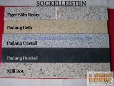 Sockelleisten,  SOCKELPLATTEN Platten  Marmor Sandstein Granit  Padang Cristall