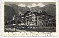 Bad Reichenhall Bayrisch Gmain 1920/30 Kurhaus Hotel am Frost alte Postkarte