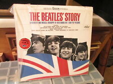The Beatles Story Capitol Records vintage Vinyl LP Biography Beatlemania