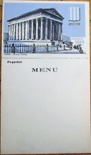 Steamer/Steam Ship1930s Menu & Postcard-Cie. Francaise de Navigation a Vapeur #7
