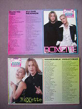 2x Bravo Songbook Roxette (1994) 90er (Vulnerable + Run to you) Clipping