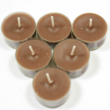 Coffee Mocha Handpoured Highly Scented Tea Lights Candles Tealights pack of 6
