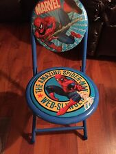 Kids Foldout Chair Marvel Spiderman Furniture Children Toddler