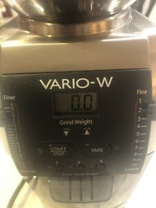 Baratza Vario-W Grinder with Scale - New 986 Model