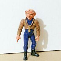 """VINTAGE Star Trek DS9 GRAND NAGUS ZEK  4"""" Action Figure - Playmates 1993 94"""