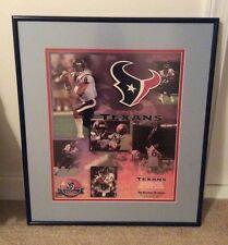 Original Houston Texans, Dallas Cowboys Inaugural game Poster, 9-8-2002
