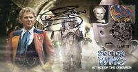 "Doctor Who ""Attack Of The Cybermen"" Collectors Stamp Cover - Signed COLIN BAKER"