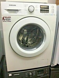 SAMSUNG White Washing Machine Ecobubble Technology 7kg