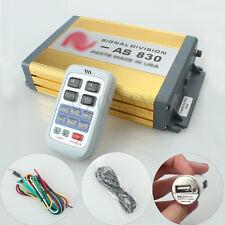 Police Siren 200W 12V Car Alarm Siren Horn AS830 Wireless Remote 11 sound New