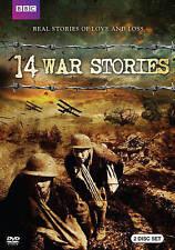 14 War Stories (DVD, 2014, 2-Disc Set)  New/Sealed