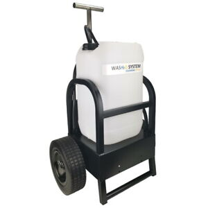 WASH2O Compact 25L Window Cleaning Trolley for use with Water Fed Poles
