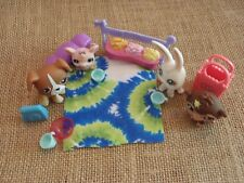 Littlest Pet Shop Assorted Pet Lot! w/ Accessories Dog Bunny Monkey Mouse D18