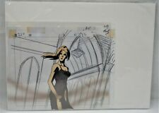 Todd McFarlane's Spawn Animation Cel, Background & Pencil Sketch of Spawn #4