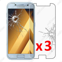 Lot 3 Film protection VERRE Trempé Vitre anti casse Samsung Galaxy A5 2017 A520F