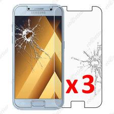 Lot 3 Film protection VERRE Trempé Vitre anti casse Samsung Galaxy A5 2017 A520F