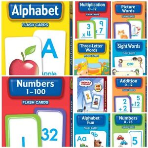 Hinkler School Zone Early Learning Flash Cards Variety Packs Buy 4 for 15% off