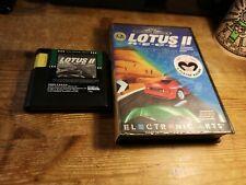 Lotus 2 II R.E.C.S SEGA Megadrive Mega Drive Game