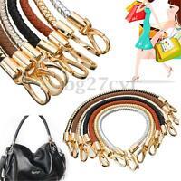 7 Color PU leather Round Shoulder Bag Purse Handle Replacement Handbag Strap DIY
